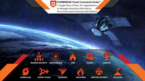 Everbridge Partners with Planet to Add Sophisticated Satellite Imagery to Its Award-Winning Critical Event Management (CEM) Platform. (Photo: Business Wire)