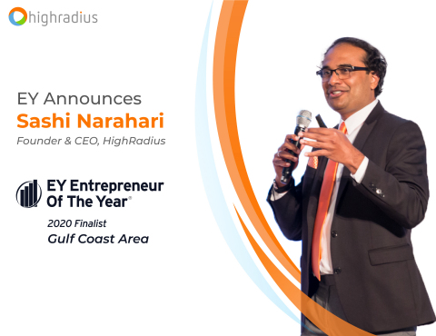 EY Announces Sashi Narahari Entrepreneur Of The Year (Graphic: Business Wire)
