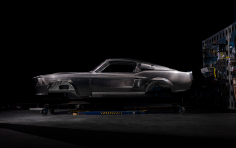 Carbon Fiber Heritage Shelby GT500CR Mustang. (Photo: Business Wire)