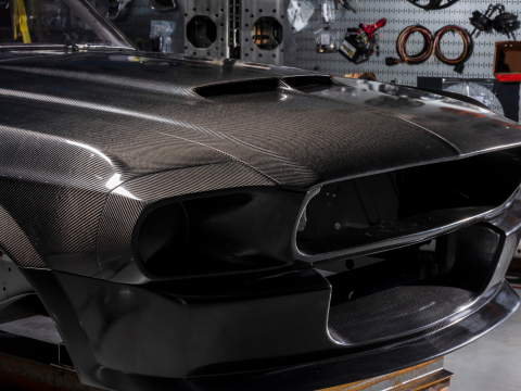 Carbon Fiber Shelby GT500CR Mustang. (Photo: Business Wire)