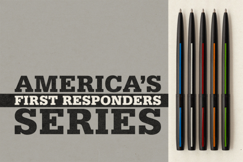 Fisher Space Pen First Responders Thin Line Series (Photo: Business Wire)
