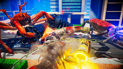 Fight Crab will be available on Sept. 15. (Photo: Business Wire)
