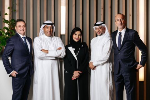 The team of Afkar Ventures (Photo: AETOSWire)