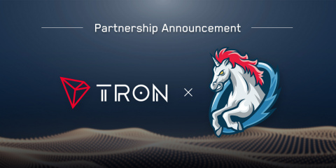 TRON and 1inch have agreed to a global strategic partnership. (Graphic: Business Wire)