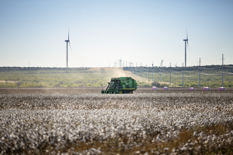 This global call to action builds on the launch of Wrangler's sustainable cotton program in 2017, the Wrangler Science and Conservation Program, with an aim to build a more resilient and regenerative cotton supply. (Photo: Business Wire)