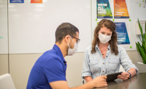 The Acteev Protect Nonwoven Mask is a reusable general purpose mask that features powerful built-in antimicrobial technology to protect the mask from odor-causing bacteria and mold fungi in a soft, breathable, comfortable fabric that is gentle on the skin. (Photo: Business Wire)