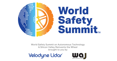 The World Safety Summit on Autonomous Technology, which takes place on October 22, 2020, will address safety and autonomy issues in vehicle transportation. (Graphic: Velodyne Lidar)