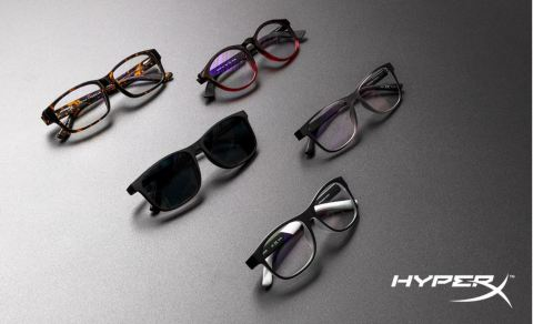 HyperX Introduces new blue light blocking Spectre eyewear collection for youth and adults. (Photo: Business Wire)