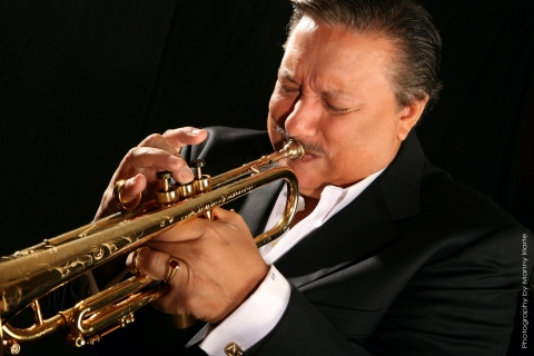 The highlight of the 26th Annual Music Festival for Brain Health was the private streamed performance by ten-time GRAMMY® award-winner Arturo Sandoval and an ensemble band. (Photo: Business Wire)