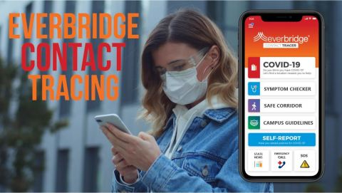 Apple App Store Approves Everbridge's Next-Gen COVID-19 Contact Tracing Software Solution. (Photo: Business Wire)
