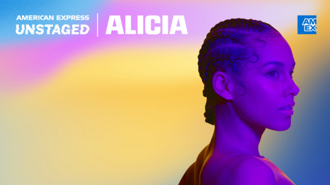 American Express UNSTAGED Presents a Special Performance from Global Icon Alicia Keys (Photo: Business Wire)