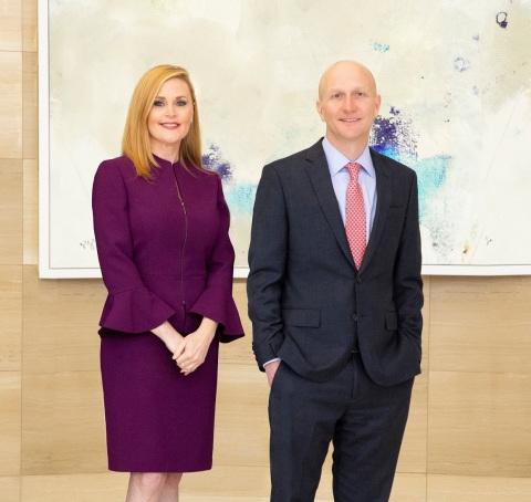 Jenny Martinez and Michael McCabe (Photo: Business Wire)