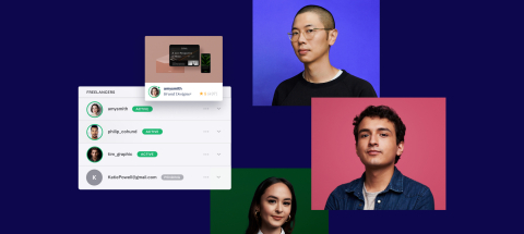 Previously in beta, Fiverr Business provides larger companies a curated experience with collaboration and administrative tools and an easy way to integrate freelancers into their workflows. (Graphic: Business Wire)