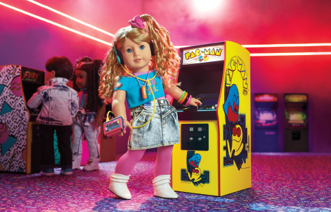 American Girl's new '80s historical character, Courtney Moore. (Photo: Business Wire)