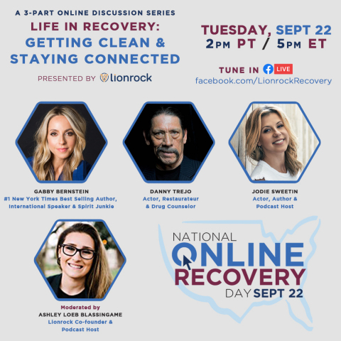 National Online Recovery Day Panel (Graphic: Business Wire)