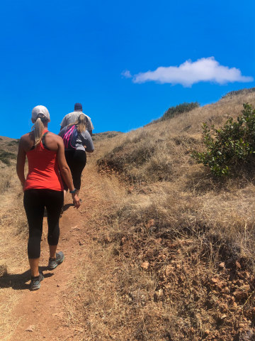 Experience Catalina Island like never before with Catalina Island Company's new Rumble & Trek tour, a combination of two of its most popular outdoor activities in one exhilarating adventure. Begin aboard a eco-friendly biofuel Hummer to explore stunning vistas from every angle and end with a 2.2-mile naturally socially distanced hike with a trained naturalist for an up-close look at much of the island's unspoiled beauty. For more information go to www.visitcatalinaisland.com. (Photo: Business Wire)