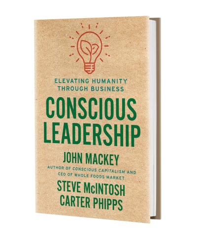 Conscious Leadership Book Cover (Photo: Business Wire)
