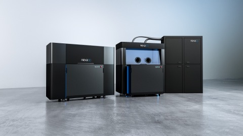 Nexa3D plans commercial delivery of its QLS-350 polymer production 3D printer powered by Siemens' automation controls in the first quarter of 2021. (Photo: Business Wire)
