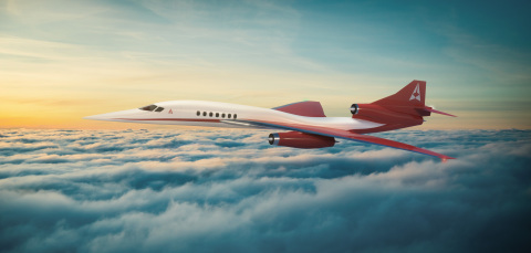 BAE Systems will supply the flight control system for the new Aerion Supersonic AS2 business jet. Photo credit: Aerion Supersonic