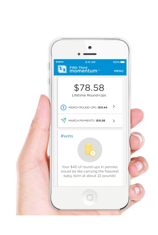 Fifth Third's Momentum app has helped customers pay down more than $5 million in student loan debt. (Photo: Business Wire)