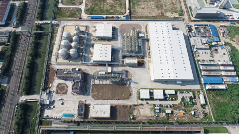 The Valvoline China Lubricant Plant in Zhangjiagang, Jiangsu Province, China was completed by Fluor ahead of schedule. (Photo: Business Wire)