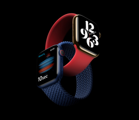 Introducing Apple Watch Series 6, featuring a revolutionary Blood Oxygen sensor and app. (Photo: Business Wire)