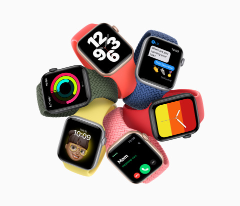 Apple Watch SE packs the essential features of Apple Watch into a modern design customers love at an affordable price. (Photo: Business Wire)