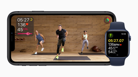 Introducing Apple Fitness+: An exciting new fitness experience powered by Apple Watch. (Photo: Business Wire)