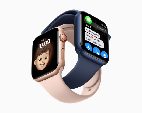 Family Setup brings the Apple Watch experience to the entire family, including kids and older adults. (Photo: Business Wire)