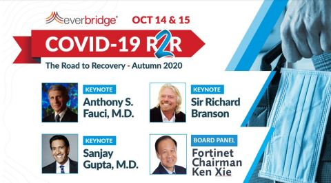Sir Richard Branson Joins Dr. Anthony Fauci and Dr. Sanjay Gupta as Keynote Speakers for Everbridge's Virtual Symposium, COVID-19: Road to Recovery (Photo: Business Wire)