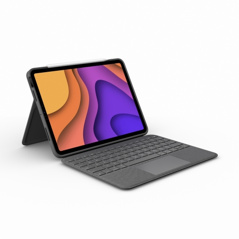 Logitech Folio Touch, extremely versatile and flexible keyboard case, available for the new iPad Air (4th generation) (Photo: Business Wire)