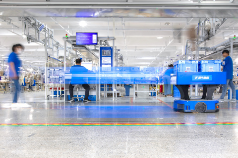 Xunxi Digital Factory, powered by Alibaba's cloud computing infrastructure and IoT, offers SMEs a digitalized end-to-end manufacturing supply chain that allows for fully-customized, demand-driven production. (Photo: Business Wire)