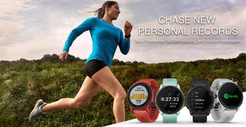 Garmin announces the Forerunner 745 (Photo: Business Wire)