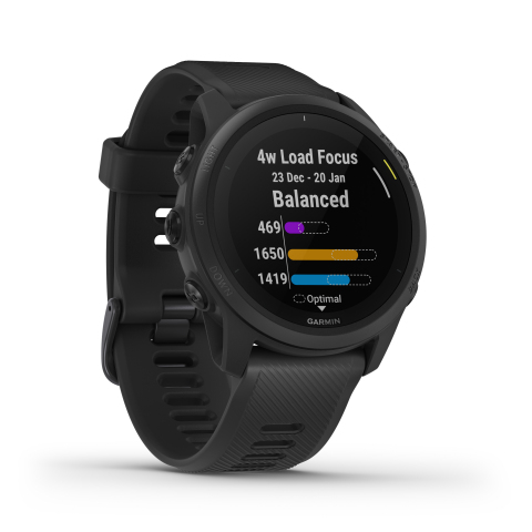 Forerunner 745 in Black  (Photo: Business Wire)