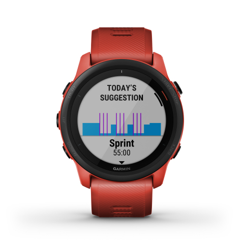 Forerunner 745 in Magma Red  (Photo: Business Wire)