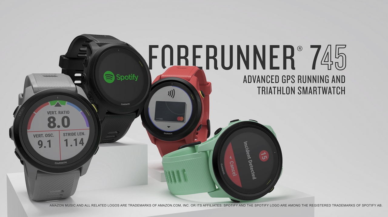 Forerunner 745 features and benefits