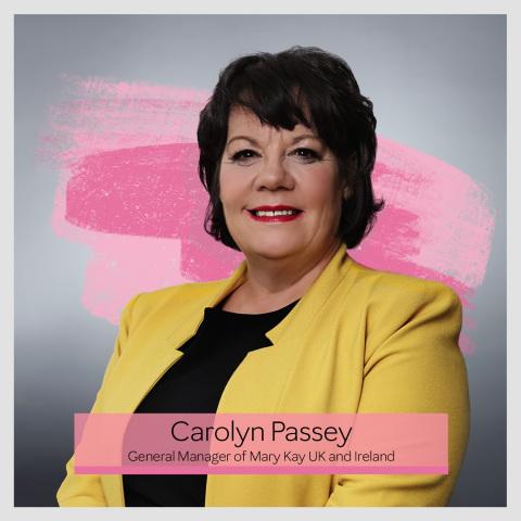 Carolyn Passey, General Manager, Mary Kay United Kingdom & Ireland. (Photo: Mary Kay Inc.)