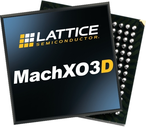 The MachXO3D secure control FPGA from Lattice Semiconductor (Photo: Business Wire)