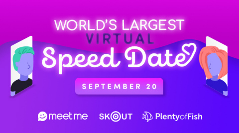 The Meet Group Announces World's Largest Virtual Speed Dating Event (Photo: Business Wire)