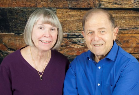 Susan and David Howard's gift will benefit students who self-identify as the first in their family to graduate from college and pursue an advanced degree. (Photo courtesy of Susan and David Howard)