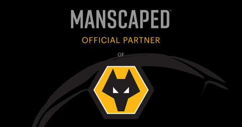 MANSCAPED announces its first U.K.-based sports partnership with Wolves. (Graphic: Business Wire)