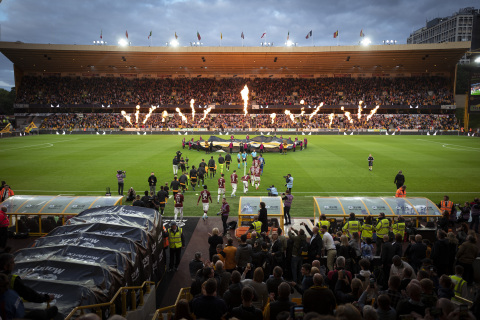 The partnership will debut at Molineux Stadium on Thursday's game against Stoke City. (Photo: Business Wire)