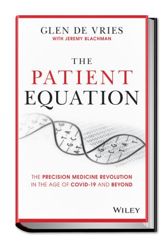 The Patient Equation, by Glen de Vries (Photo: Business Wire)
