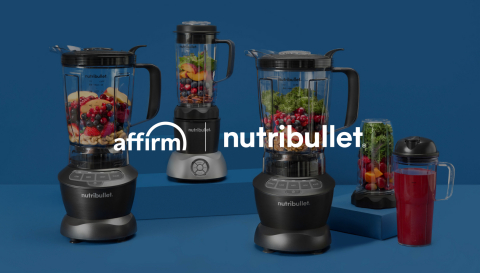 Affirm partners with NutriBullet (Photo: Business Wire)