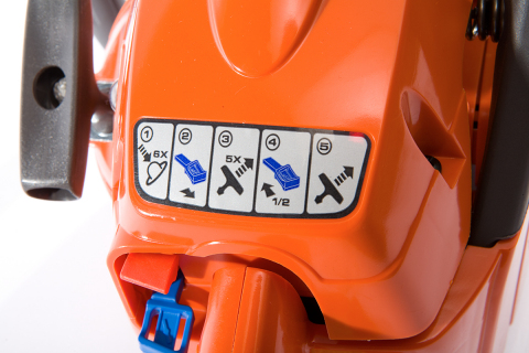 FLEXcon® NEXgen™ is suitable for outdoor power equipment labeling. (Photo: Business Wire)