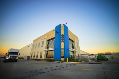Lineage Logistics has grown its cubic feet by 60% annually since 2008 to 1.9 billion cubic feet, making it the largest global temperature-controlled industrial REIT. (Photo: Business Wire)