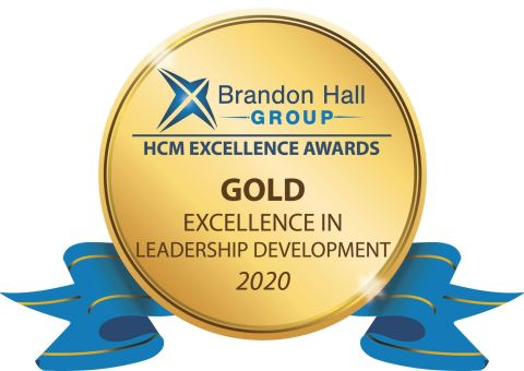 Brandon Hall Gold Award - Excellence in Leadership Development