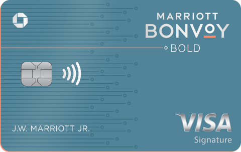 The Marriott Bonvoy Bold Card (Photo: Business Wire)