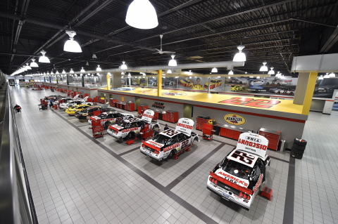 Team Penske's expansive facility in Mooresville, N.C., home to several production-grade Stratasys 3D printers. (Photo: Business Wire)