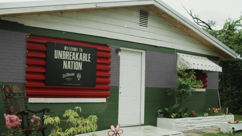 "STILLHOUSE IS EQUIPPING HURRICANE PRONE HOMES WITH ""UNBREAKABLE"" METAL SHUTTERS (Photo: Business Wire)"
